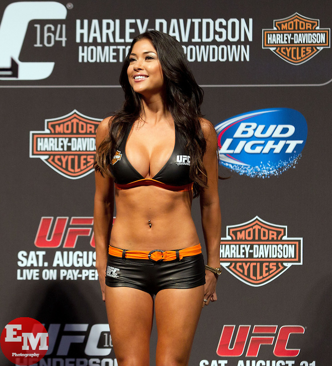 UFC Octagan girl